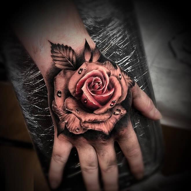 Cuốn Hút Thực Sự Với Hình Xăm Hoa Hồng - Rio Tattoo