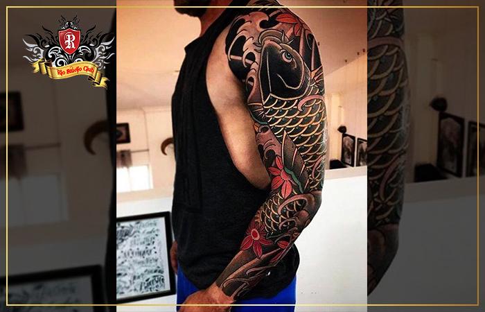 Hình Xăm Tay Ngầu Dành Cho Nam – Rio Tattoo Studio